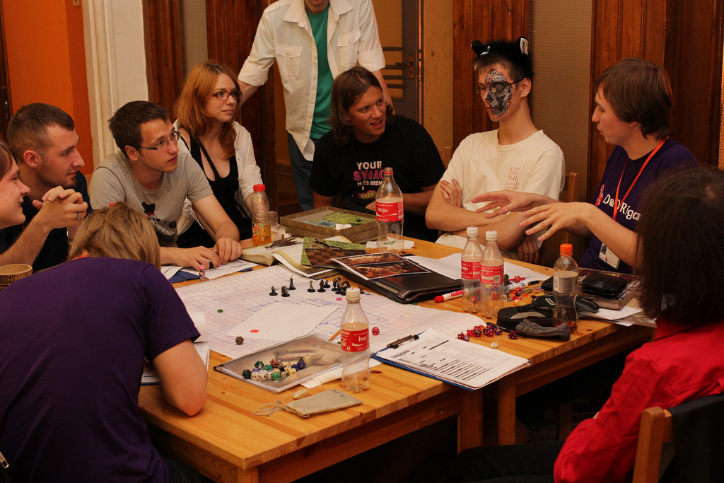 D&D Pathfinder Edition Game