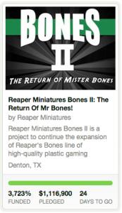 Bones 2 Kickstarter