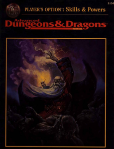 Skills & Options - AD&D 2E