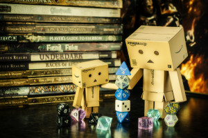 Nomadic Lass - D is for Danbos with Dice